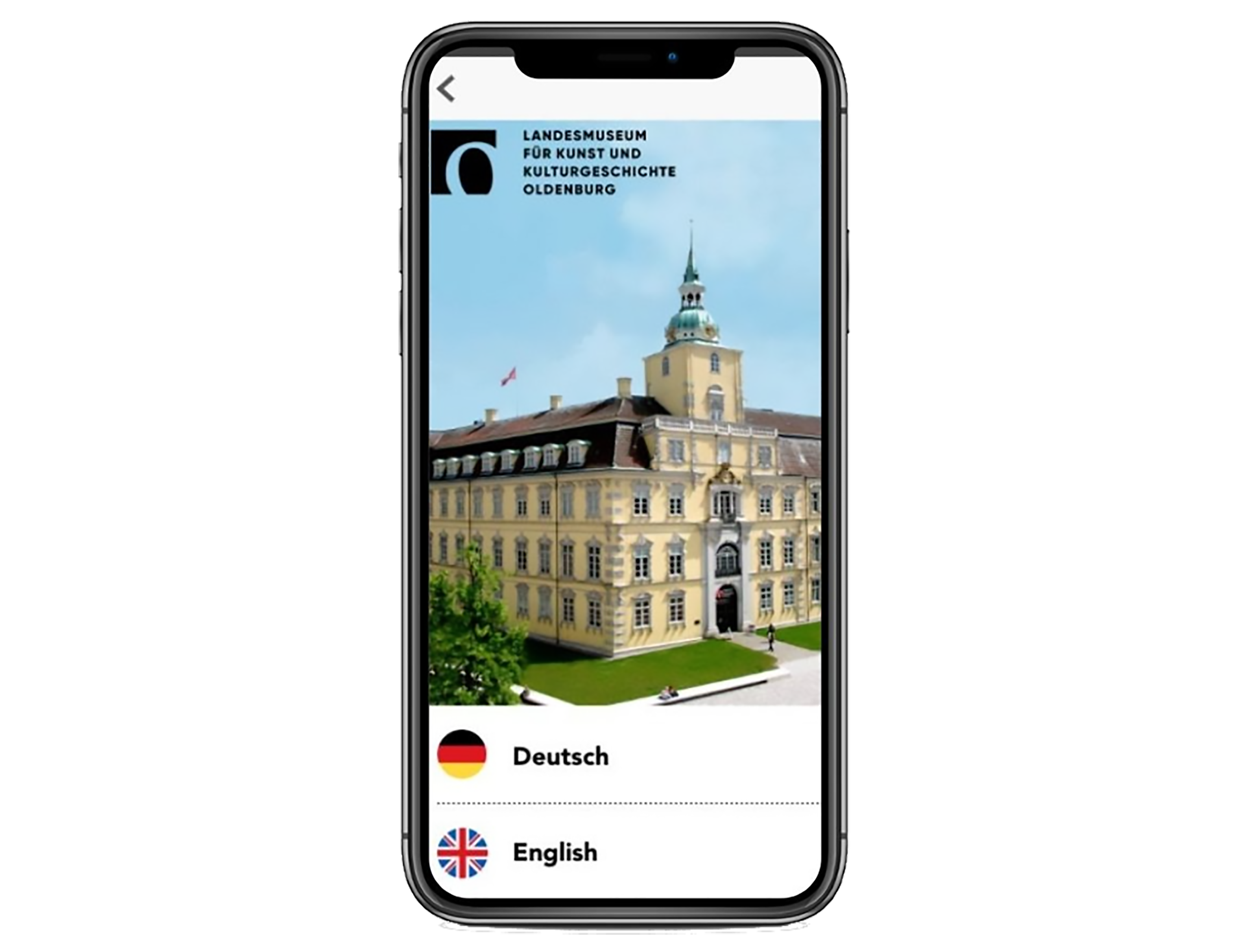Handy mit Landesmuseum Oldenburg App